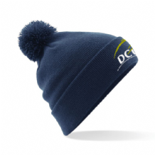 DCU Bobble Hat - Navy